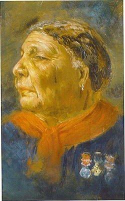 Mary Seacole Portrait by Albert Challen