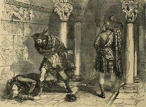 Robert Bruce Killing John Comyn