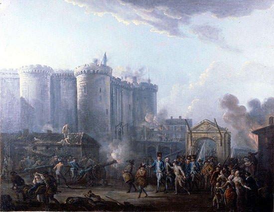 Arrest of de Launay - Jean-Baptiste Lallemand