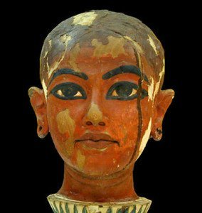 Bust of Tutankhamun