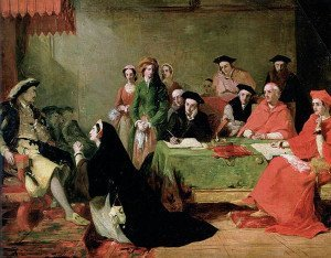 Catherine of Aragon pleads her case against divorce