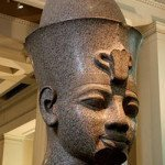 Granite head of Amenhotep the Magnificent