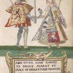 Robert the Bruce and Elizabeth de Burgh