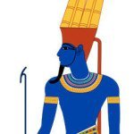 God Amun Depiction