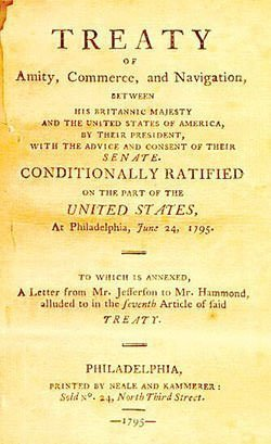 Jay Treaty First Page
