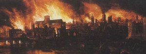 Great Fire of London Facts Featured
