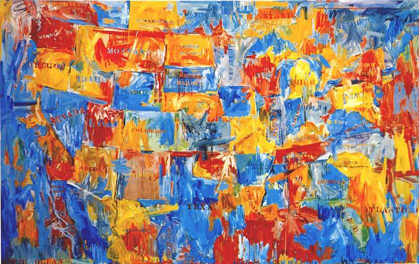 False Start (1959) - Jasper Johns