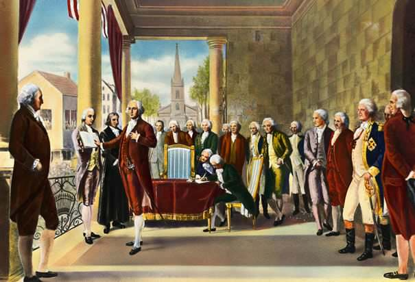 Washington's Inauguration as President