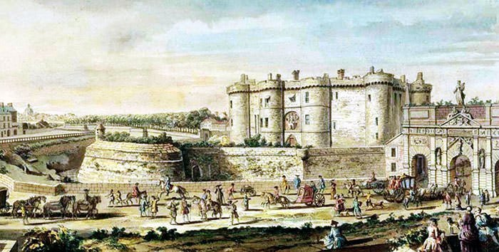 10 facts on bastille day and storming of the bastille for Porte saint antoine