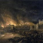 Great Fire of London on 4 September 1666