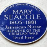 Mary Seacole Plaque London