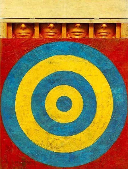 Target with Four Faces (1955) - Jasper Johns