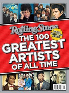 Rolling Stone's 100 Greatest Artists