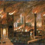 The Great Fire of London - St. Paul's Cathedral