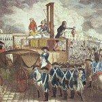 Execution of Louis XVI engraving