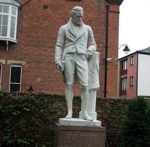 Statue of William Wilberforce in Hull