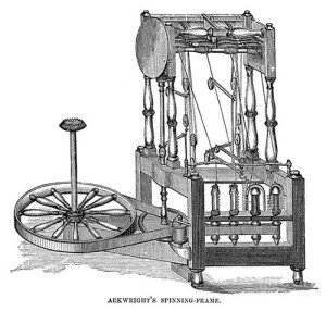 Aarkwright's Spinning Frame