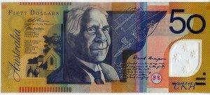David Unaipon Australian $50 note