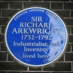 Richard Arkwright Blue plaque