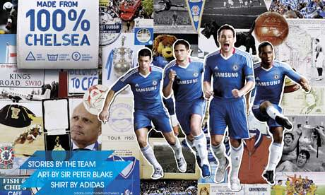 Chelsea Collage by Peter Blake