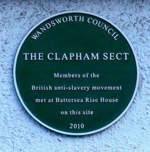 Clapham Sect Plaque
