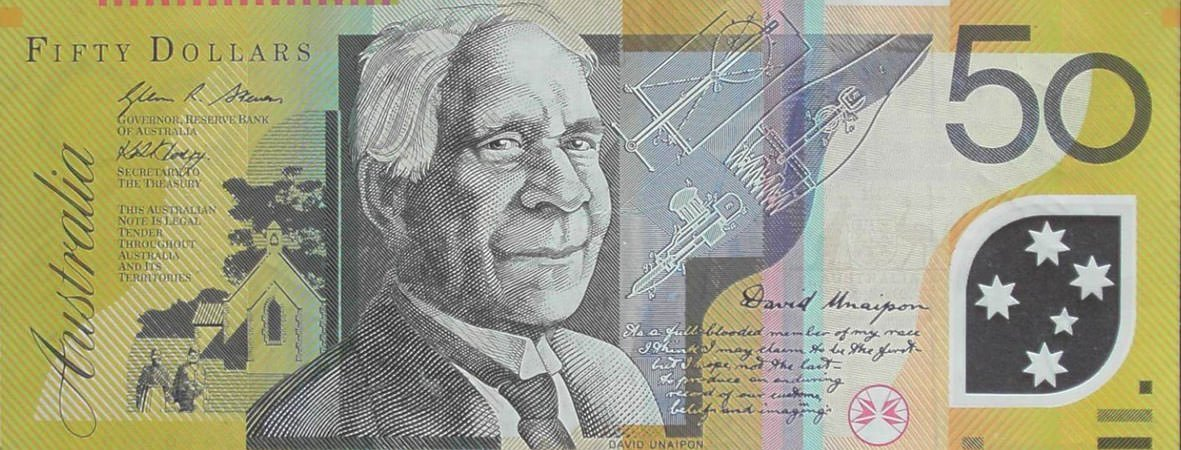 David Unaipon Australian $50 note