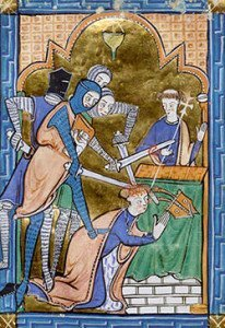 Thomas Becket Murder Depiction