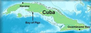 Bay of Pigs on map