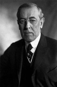 Woodrow Wilson in 1919