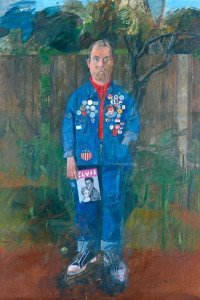 Self Portrait with Badges (1961)