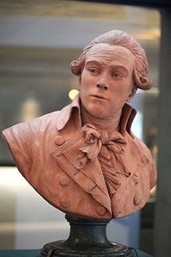 Maximilien Robespierre bust