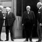 David Lloyd George, Vittorio Orlando, Georges Clemenceau, Woodrow Wilson