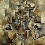 Violin and Candlestick - Braque