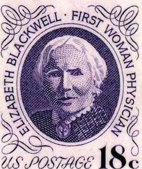 Elizabeth Blackwell 1974 U.S. postage stamp