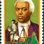 Benjamin Banneker 1980 US postage stamp