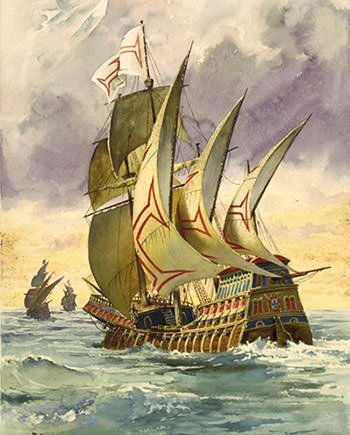 Vasco da Gama's ship