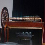 Glass armonica built using Franklin's design