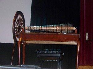 Glass armonica built using Franklin's design