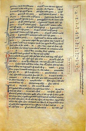 Fibonacci's Liber Abaci page