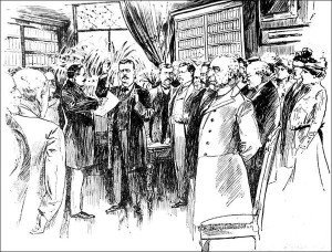 Theodore Roosevelt's Inauguration in 1901