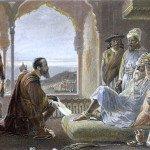 Vasco da Gama meets Zamorin