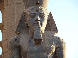 Ramses II Statue in Luxor Temple