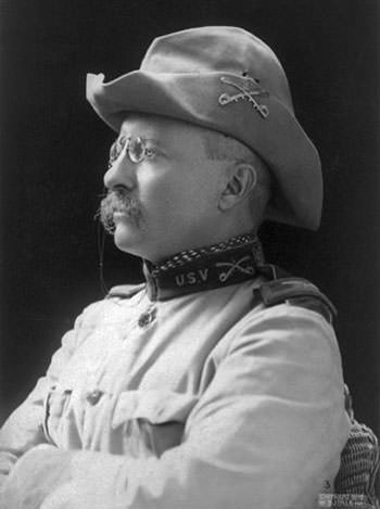 Colonel Theodore Roosevelt in 1898