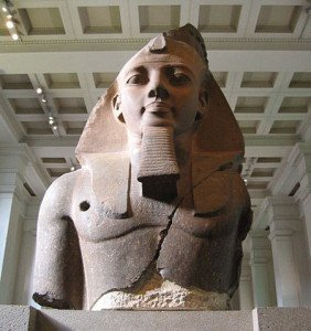 Ramses II Bust Known As Younger Memnon