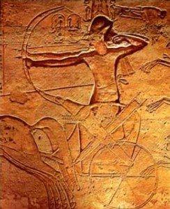 Ramses II at the Battle of Kadesh