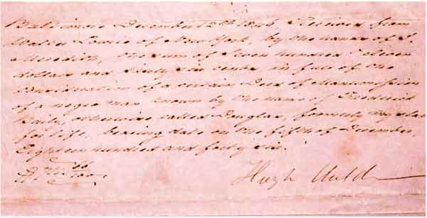 Frederick Douglass freedom document