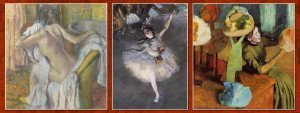 Edgar Degas Famous Paintings Featured