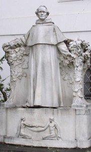 Gregor Mendel statue in Brno