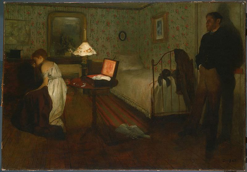 Interior (1869) - Edgar Degas