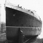 Lusitania's launch